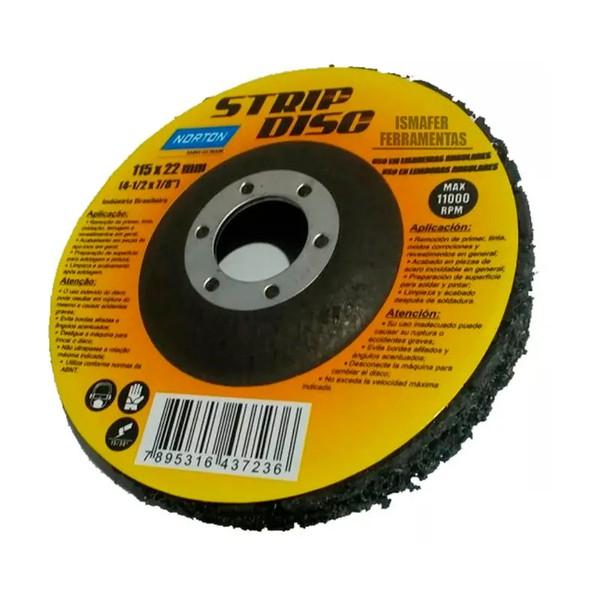 Disco Strip Disc 115x22mm - Norton