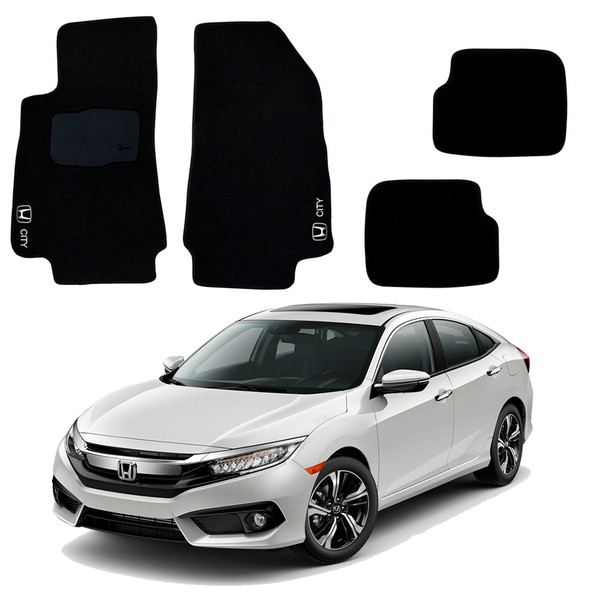 Jogo de Tapetes Honda Civic