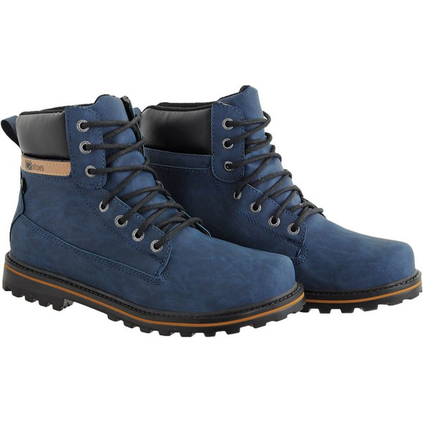 Coturno casual masculino CRshoes azul