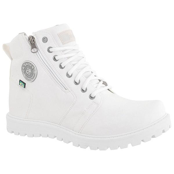 Coturno Casual Masculino CRshoes Branco