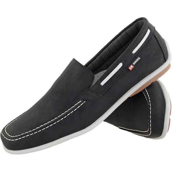 Mocassim masculino CRshoes preto