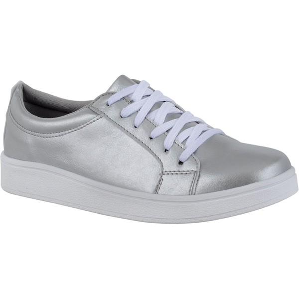 Tênis Feminino CRShoes - Prata
