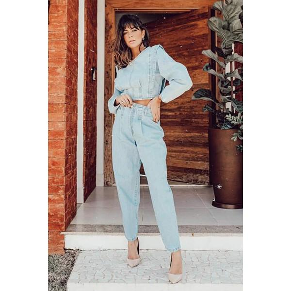 Calça Jeans Baggy Clara