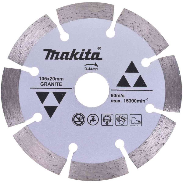 "Disco Diamantado 4"" Granito Makita D-44351"