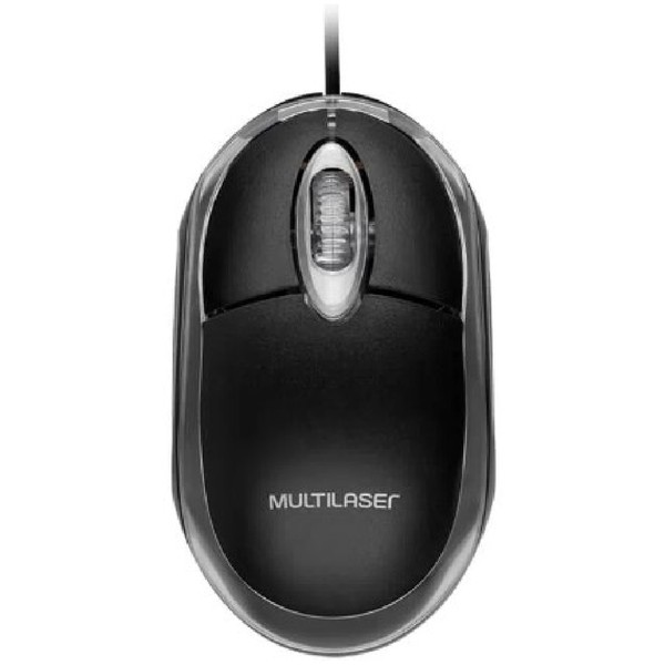 Mouse Classic Box Optico USB 800 DPI Preto Multilaser MO179