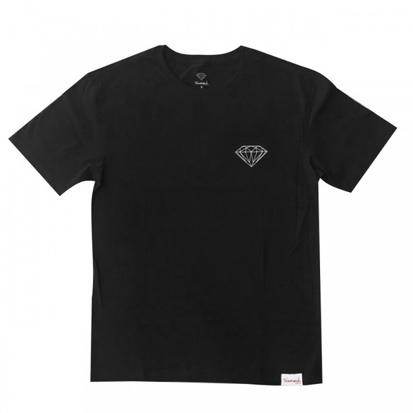 CAMISETA DIAMOND BRILLIANT BLACK