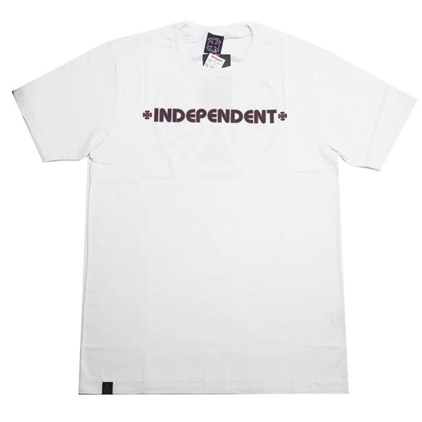 CAMISETA INDEPENDENT BAR CROSS WHITE