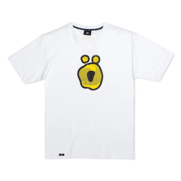 Camiseta Öus Ö Gato Preto Branca
