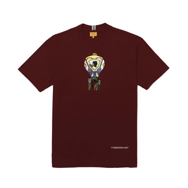 Camiseta Class Forbidden Art Bordô