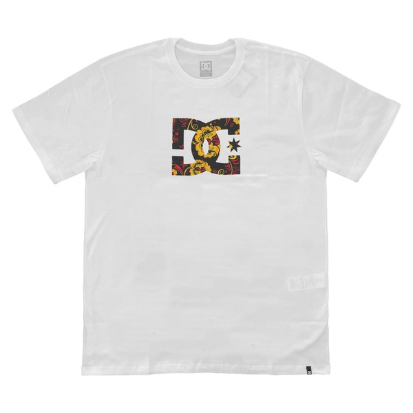 Camiseta DC Shoes Basic Slim Star Print White