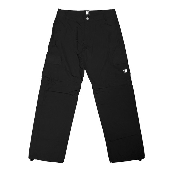 Pants DC Shoes Especial Novod Zip Black