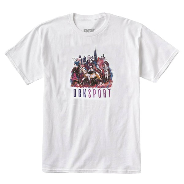 Camiseta DGK Ghetto Games White
