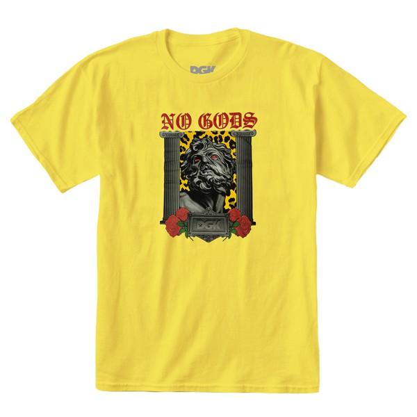 Camiseta DGK No Gods Yellow