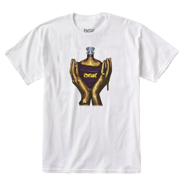Camiseta DGK Raise Up White