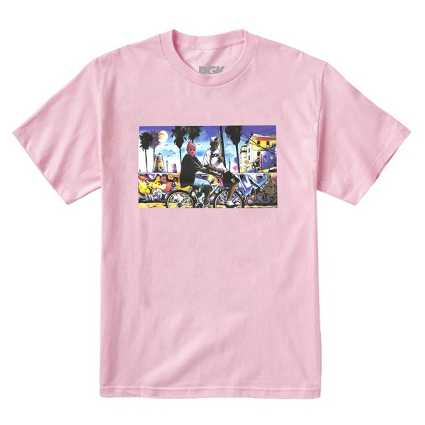 Camiseta DGK Venice Pink