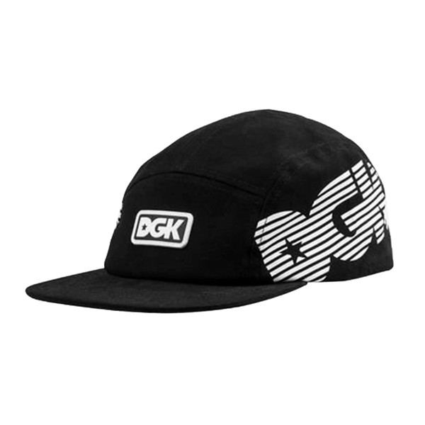 5 Panel DGK Capital Camper Hat Black