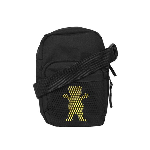 Shoulder Bag Grizzly OG Bear Hide Black