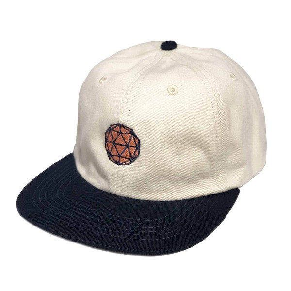 "6 Panel DOME ""90ies"" Bege/Navy"