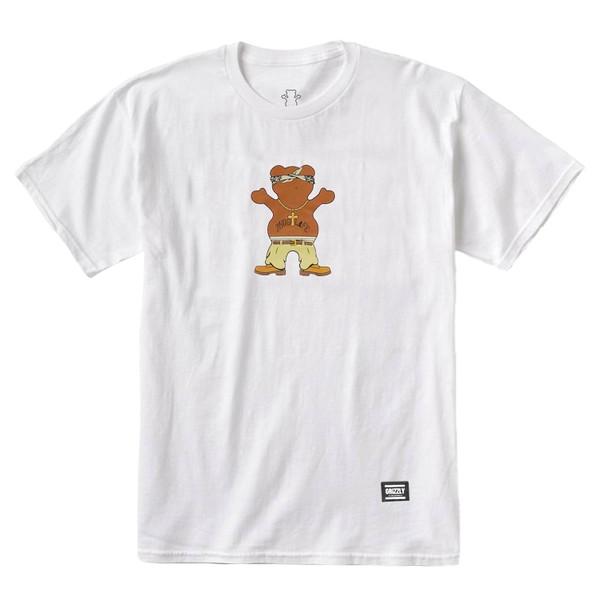 Camiseta Grizzly Thug Bear White