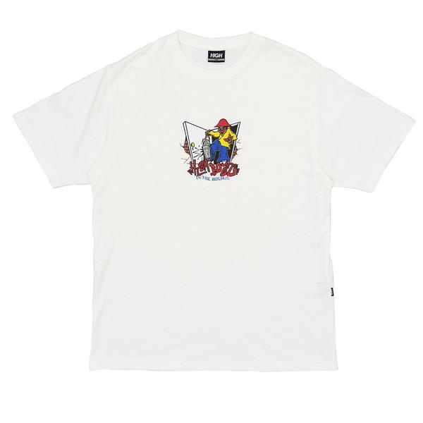 Camiseta High Tee Kickin White