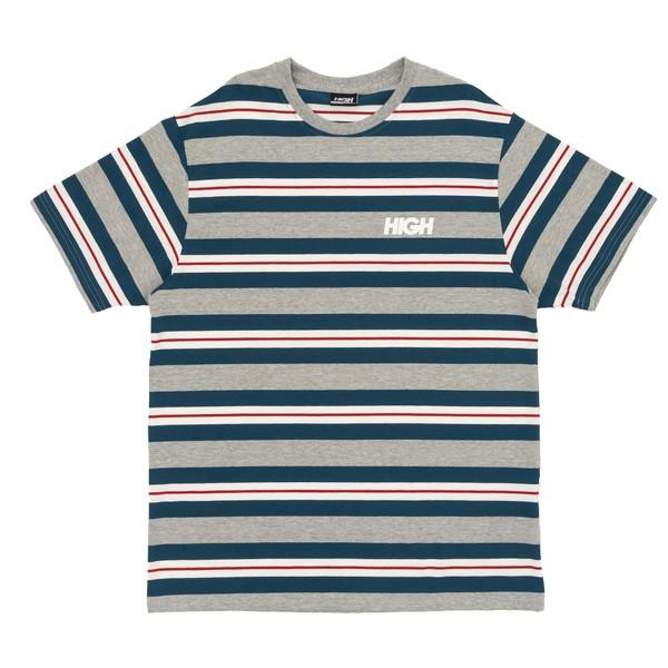 Camiseta High Tee Kidz Heather Grey Blue