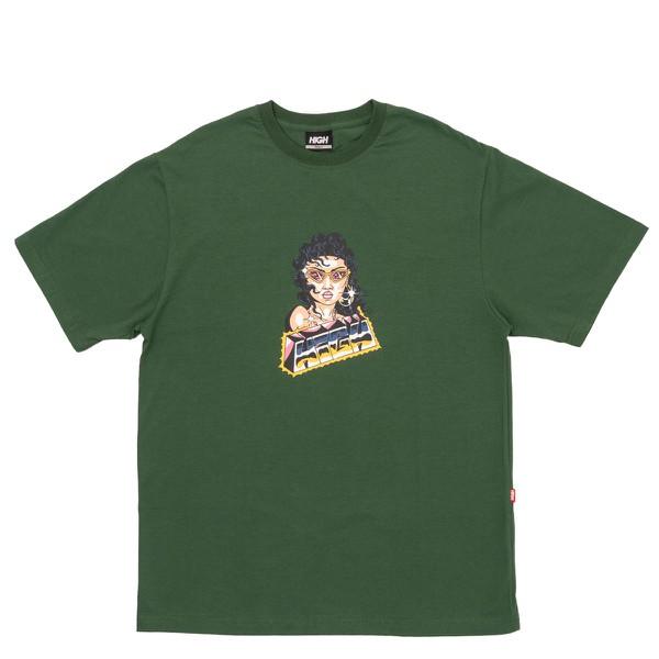 Camiseta High Tee Space Chica Green