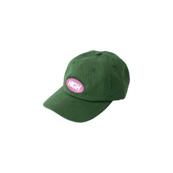 Polo Hat Rubber High Logo Night Green