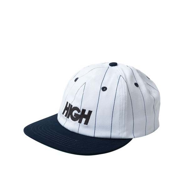 BONÉ 6PANEL HIGH STRIPED LOGO NAVY