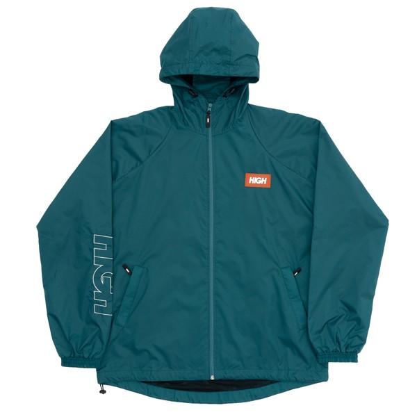 Rain Coat Label High Night Green