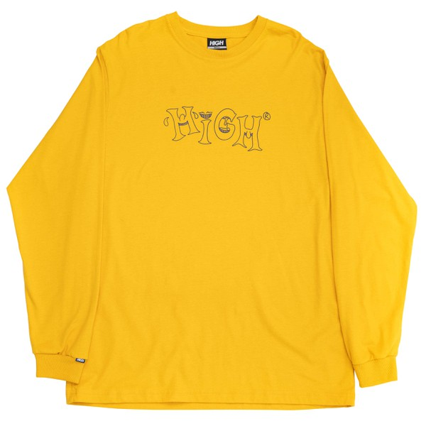 Longsleeve High Tee Mood Yellow