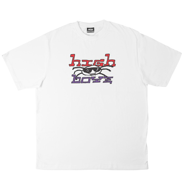 Camiseta High Tee Vírus White