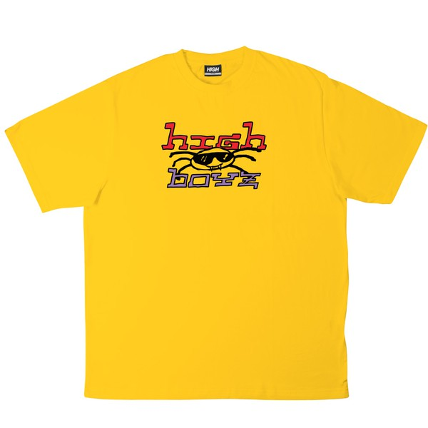 Camiseta High Tee Vírus Yellow