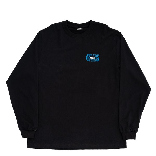 Longsleeve High Tee Cribs Black