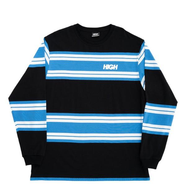 Longsleeve High Tee Kidz OG Black Blue