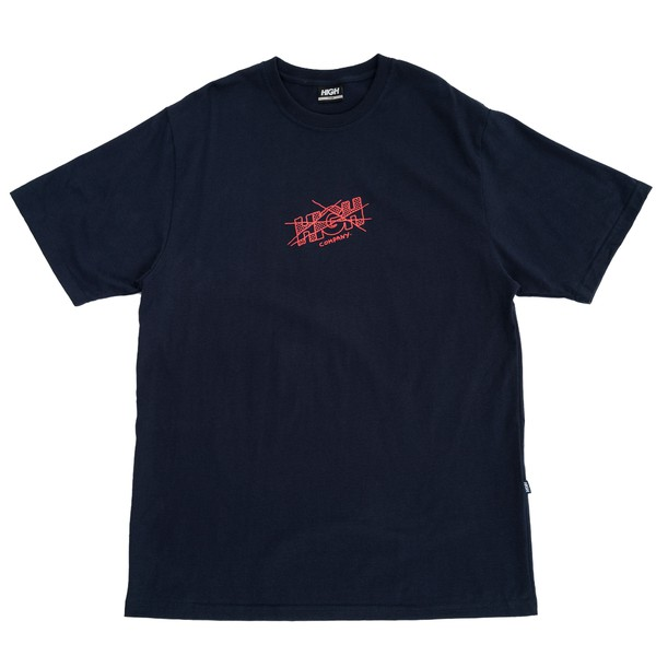Camiseta High Tee Artsy Logo Navy