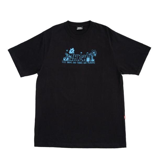 Camiseta High Tee Garden Black