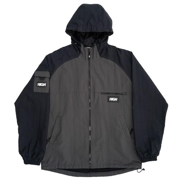 Water Resistent Jacket Cargo High Grey Black