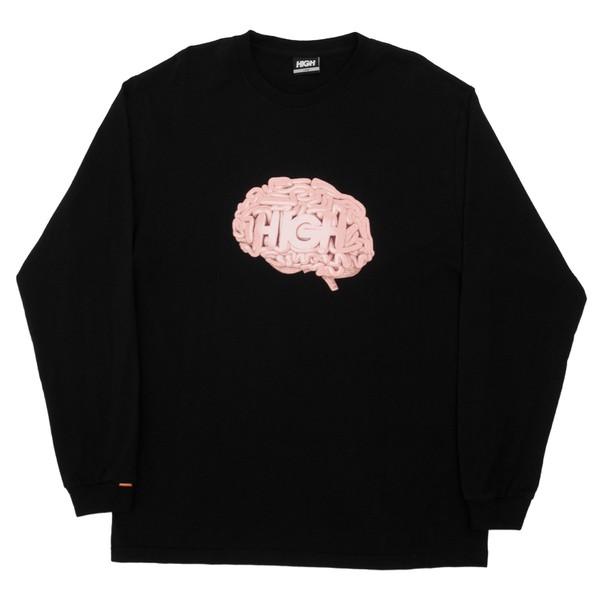 Longsleeve High Brain Black