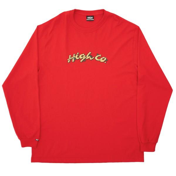 Longsleeve High Jungle Red