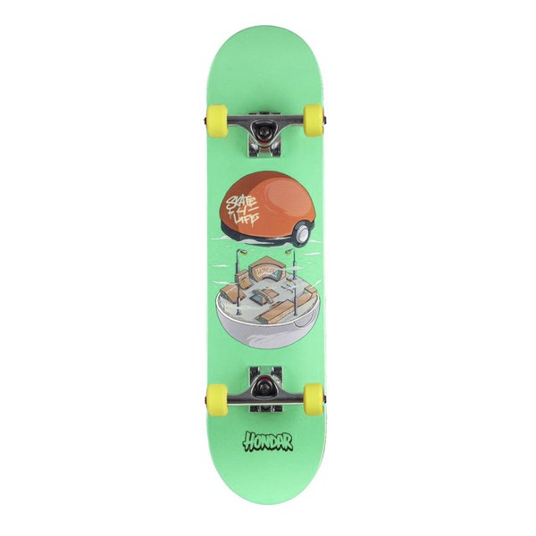 Skate Montado Hondar Skatebowl