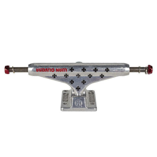 TRUCK INDEPENDENT HOLLOW LUAN OLIVEIRA SILVER STAGE 11 - 144MM