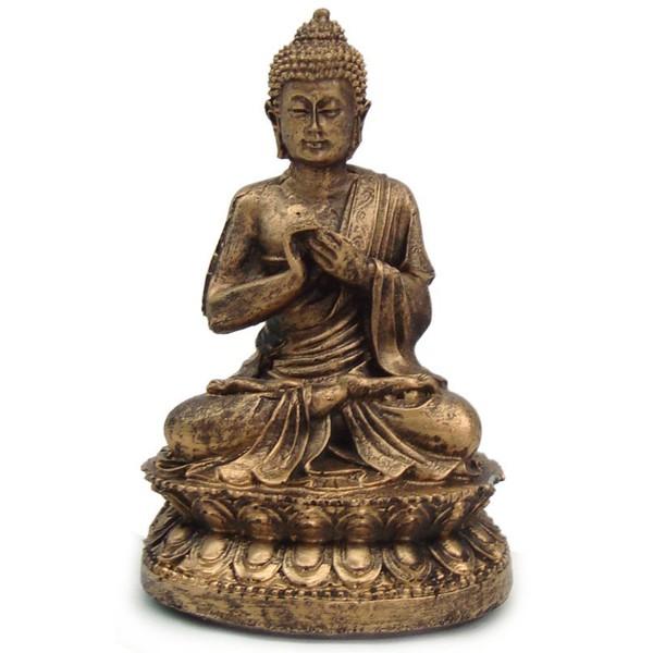 Buda Hindu Pequeno Dourado