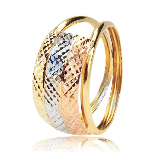 Anel de Ouro 3 cores
