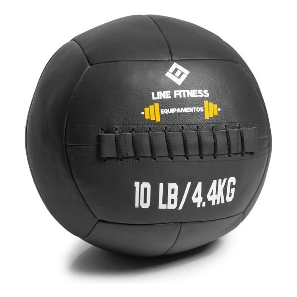 Wall Ball em Couro 8lb/4kg