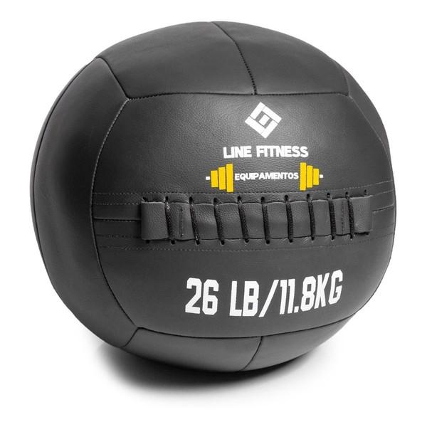 Wall Ball em Couro 26lb \ 12kg