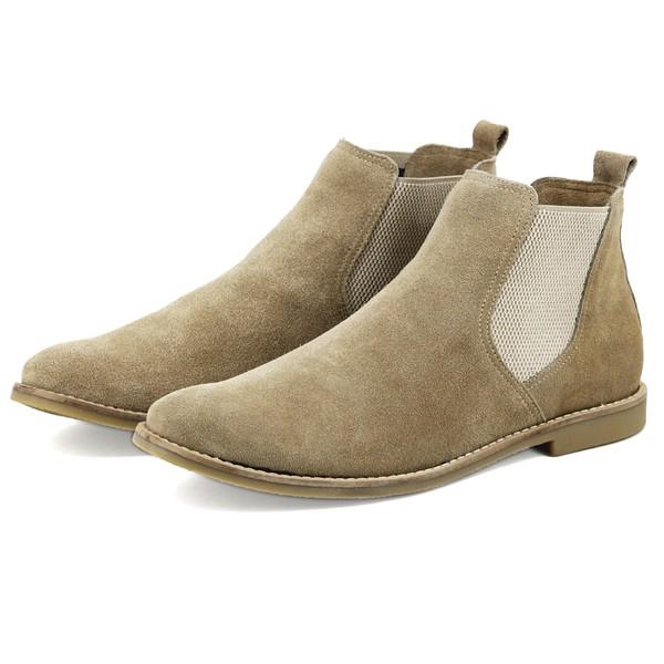 Chelsea Boot Feminina N° 33/40 Areia 3301