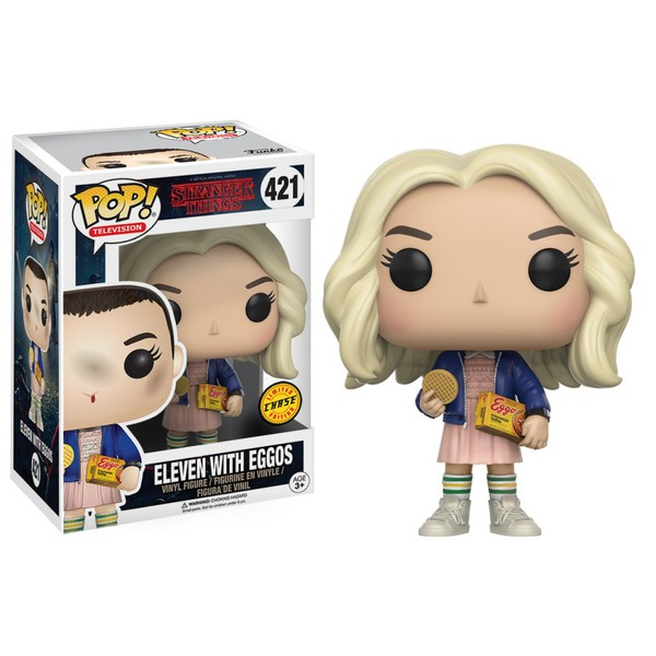 Stranger Things - Eleven With Eggos Funko Pop #421 Chase