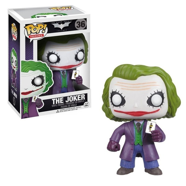 BATMAN THE DARK KNIGHT - JOKER #36 FUNKO POP!