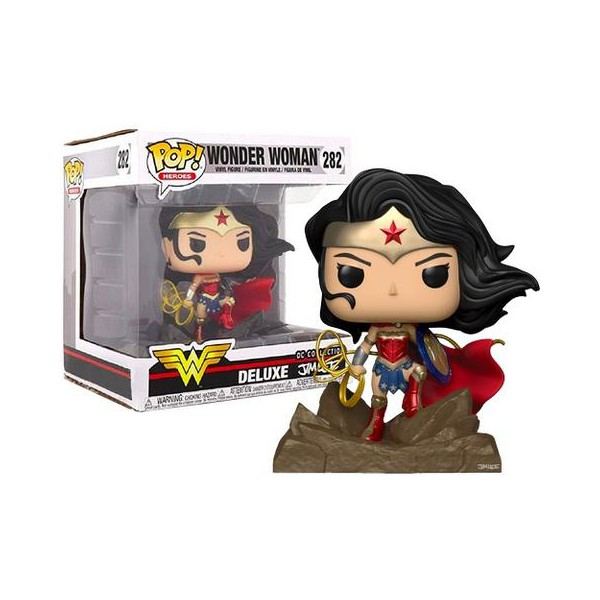 WONDER WOMAN DC COLLECTION DELUXE #282 FUNKO