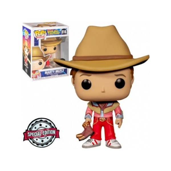 Back To The Future - Marty Mcfly #816 Exclusive Funko Pop